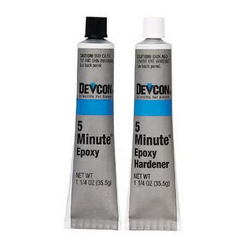Devcon Epoxy 5-Minute Two 1-1/4 Ounce Tubes