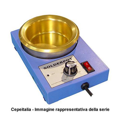 Crogiolo re 50b con vasca 500gr cepeitalia for Vasca per stagno
