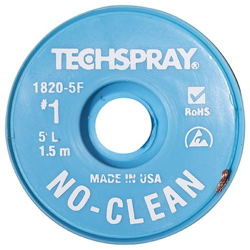 1820-5F - Treccia dissaldante No Clean #1 - 0.90mm - 1.5m