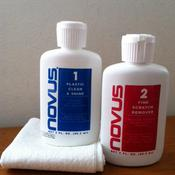 Novus Plastic Polish Kit 1&2 59,20ml + 4 panni